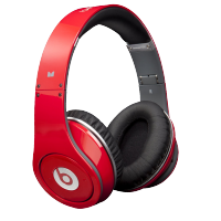 Monster Beats by Dr. Dre Studio - красные