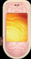 Nokia 7373 - розовый