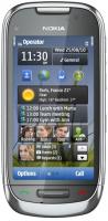 Nokia C7-00 - серебристый