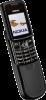Nokia 8800 Silver Black