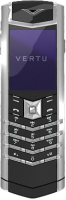 Vertu Signature S Design Platinum - финский